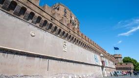 Święty anioła fort i Święty anioła most Fotografia Royalty Free