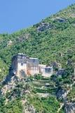 święty athos monaster Zdjęcie Royalty Free
