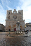 Święty Cajgowa katedra, Lion Obraz Royalty Free