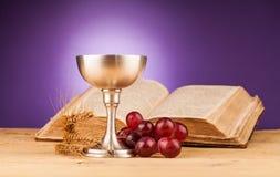 Święty communion fotografia royalty free