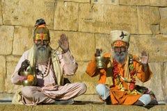 święty człowiek indyjski obraz stock