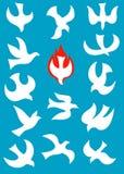 święty duch ilustracja wektor