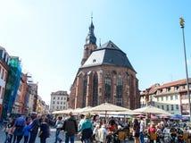 Święty duch Kościelny Heidelberg, Niemcy Fotografia Stock