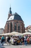 Święty duch Kościelny Heidelberg, Niemcy Obraz Royalty Free