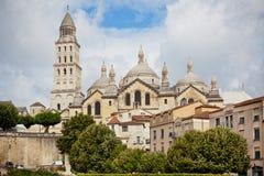 Święty Frontowa katedra w Perigord, Francja Zdjęcia Stock