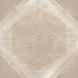 Święty geometria abstrakcjonistycznego symbolu tło royalty ilustracja