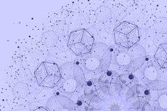Święty geometria elementów i symboli/lów tło obraz stock