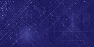 Święty geometria elementów i symboli/lów tło Fotografia Stock
