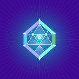 Święty geometria symbol Fotografia Stock