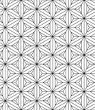 Święty geometria wzór bezszwowy royalty ilustracja