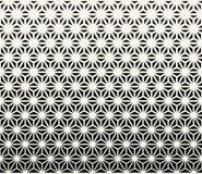 święty geometrii halftone trójboka grafiki wzór ilustracja wektor