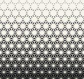 święty geometrii halftone trójboka grafiki wzór royalty ilustracja