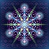 Święty geometrii mandala royalty ilustracja