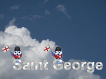 Święty George Obrazy Stock