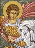 Święty George, ażio Georgios/ Obraz Stock