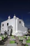 Święty George& x27; s kaplica, góra Lycabettus, Ateny, Grecja Obrazy Royalty Free