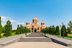 Święty Gregory iluminator katedra, Yerevan, Armenia obraz stock