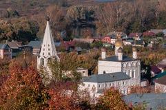 Święty Gromniczny klasztor Gorokhovets Vladimir region Przy końcówką Wrzesień 2015 Obrazy Royalty Free