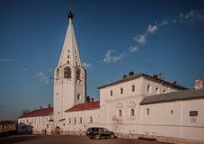 Święty Gromniczny klasztor Gorokhovets Vladimir region Przy końcówką Wrzesień 2015 Zdjęcie Royalty Free