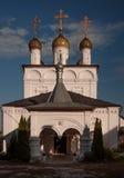 Święty Gromniczny klasztor Gorokhovets Vladimir region Przy końcówką Wrzesień 2015 Zdjęcie Stock