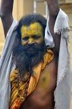 święty ind mężczyzna sadhu Obraz Royalty Free