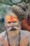 święty ind mężczyzna sadhu Fotografia Royalty Free