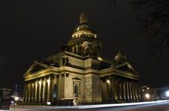Święty Isaac& x27; s katedra Zdjęcia Royalty Free