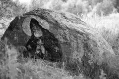 święty kamień Zdjęcia Royalty Free