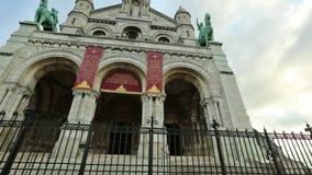 Święty Kierowy Paryski hyperlapse zdjęcie wideo