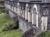 Święty Kitts, Brimstone wzgórza forteca Obraz Royalty Free