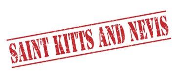 Święty Kitts I Nevis znaczek ilustracja wektor