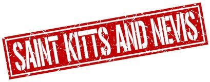 Święty Kitts I Nevis znaczek ilustracji