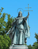 Święty & królewiątko w bohatera Kwadratowym Budapest Węgry Obrazy Royalty Free