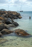 Święty Lucia, wyspa karaibska Obraz Royalty Free