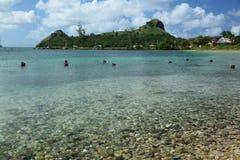 Święty Lucia, wyspa karaibska Zdjęcia Royalty Free