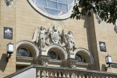 Święty Mary Basilca, Marietta, Ohio zdjęcie stock