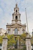 Święty Mary Le Uroczysty przy Londyn, Anglia Obrazy Royalty Free