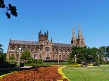 Święty Maryjna katedra w Sydney fotografia royalty free
