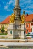 Święty Maryjny filar w Zagreb zdjęcia royalty free