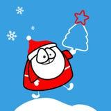 Święty Mikołaj Obrazy Royalty Free
