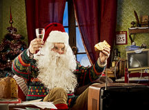 Święty Mikołaj Fotografia Royalty Free