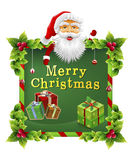 Święty Mikołaj boże narodzenia Zdjęcie Royalty Free
