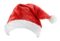 Święty Mikołaj czerwieni kapelusz obraz stock