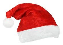 Święty Mikołaj czerwieni kapelusz zdjęcie stock