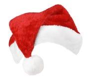 Święty Mikołaj czerwieni kapelusz fotografia royalty free