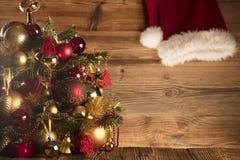Święty Mikołaj dnia pojęcie brązowy linii abstrakcyjne tła zdjęcie Fotografia Royalty Free