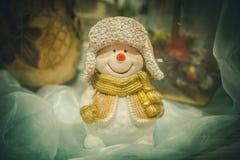 Święty Mikołaj i boże narodzenie zabawki Zdjęcie Stock