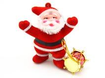 Święty Mikołaj lala Obrazy Stock