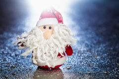 Święty Mikołaj lub ojca mróz Fotografia Royalty Free