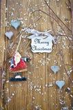 Święty Mikołaj ornament Fotografia Royalty Free